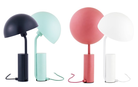 Cap table lamp by KaschKasch for Normann Copenhagen