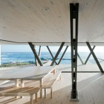 Casa Rambla by LAND Arquitectos faces out over the Pacific Ocean