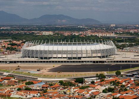 Castelão Stadium by Vigliecca & Associados, Fortaleza