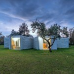 Chameleon House by Petr Hajek Architekti features rooms that point in different directions