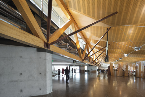 Regional Terminal at Christchurch Airport, Christchurch, New Zealand, by BVN Donovan Hill in association with Jasmax