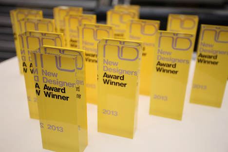 25 New Designers Awards will be given out during the exhibition
