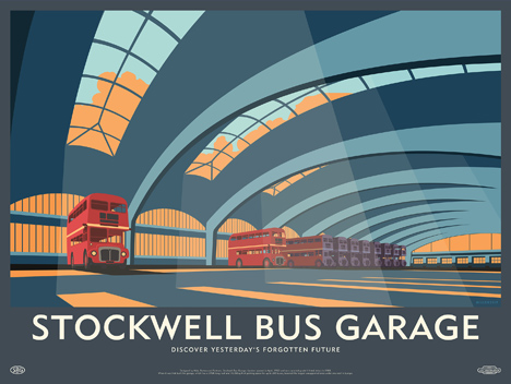 Stockwell Bus Garage by Dorothy