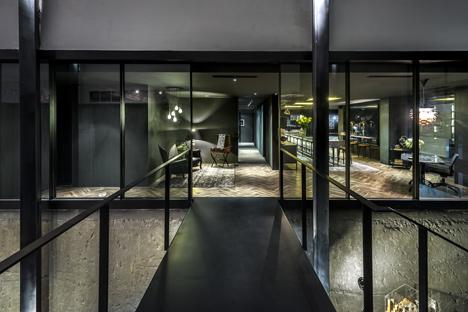 Architect's office at Kim Yam Road, Singapore, by Park + Associates Pte Ltd