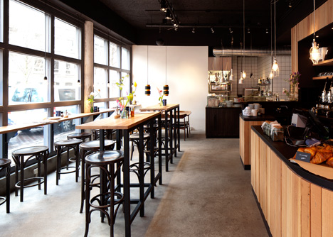De Wasserette cafe by ninetynine