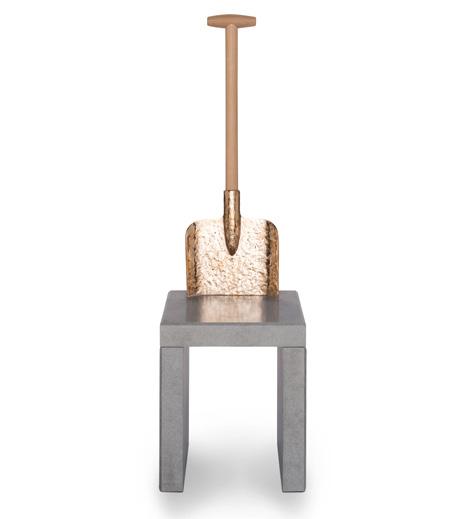 Detour chair by Studio Job