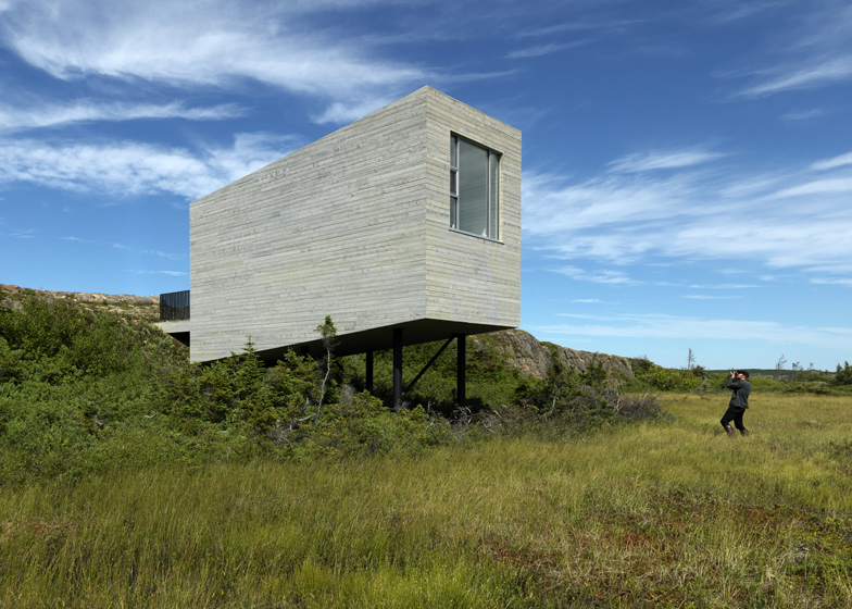 Fogo Island Bridge Studio by Saunders Architecture