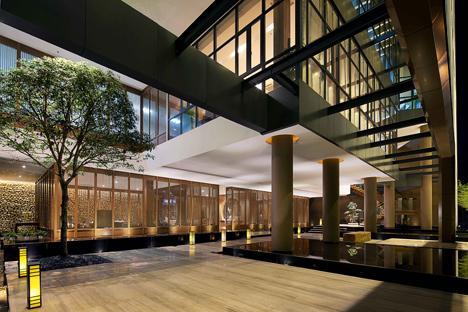 Zen Resort & Spa Sales & Exhibition Center, Yichun, China by Taiwan DaE International Design Career