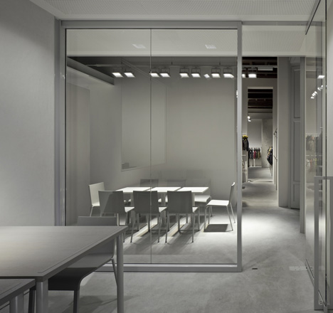 Duvetica Milan store by Tadao Ando