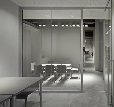 Duvetica Milan store by Tadao Ando