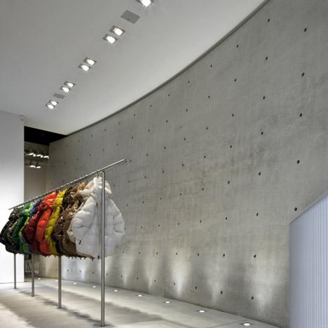 Duvetica Milan store by Tadao Ando_dezeen_51sq