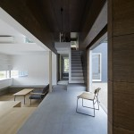 Light and shadow get an equal billing inside E House by Hannat Architects