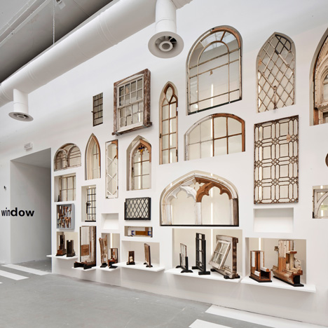 Elements exhibition windows Venice Architecture Biennale 2014_dezeen
