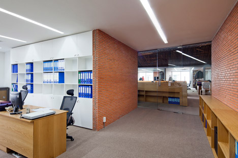 Factory Office Renovation by Vo Trong Nghia