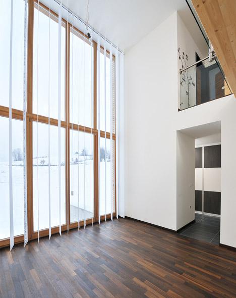 Family House in Groharjevo in Slovenia by 3biro arhitekti