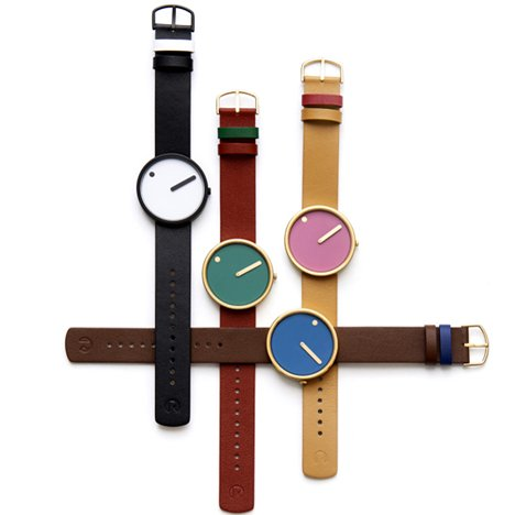 Picto watch by Steen Georg Christensen and Erling Andersen arrives at Dezeen Watch Store
