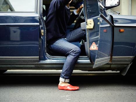 Fondue Slipper by Satsuki Ohata