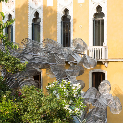 Forever-Bicycles-by-Ai-Weiwei-at-the-Lisson-Gallery-Venice_dezeen_2sq