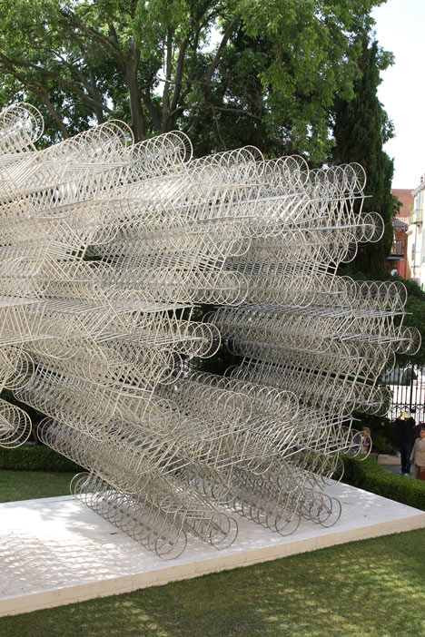 Forever Bicycles by Ai Weiwei at the Lisson Gallery Venice