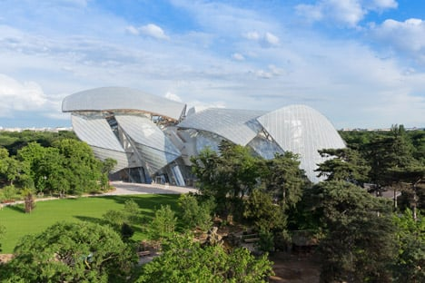 Frank Gehry's Fondation Louis Vuitton gets set to open in Paris