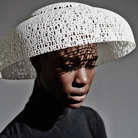 Gabriela Ligenza launches 3D-printed hats for Ascot