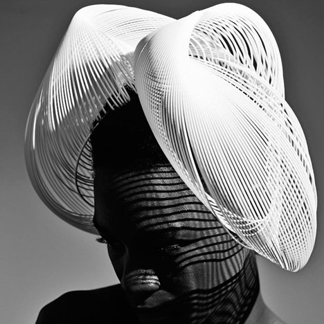 Gabriela Ligenza launches 3D printed hats for Ascot