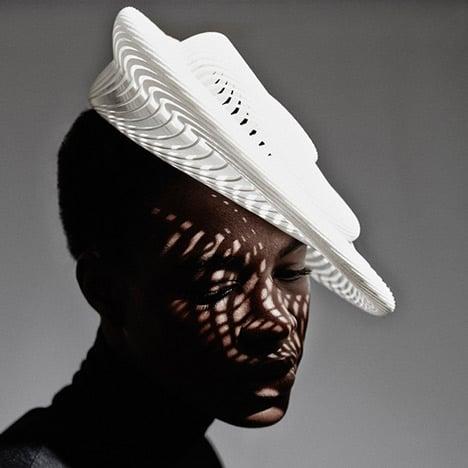 Gabriela Ligenza launches 3D printed hats for Ascot