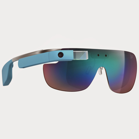 Diane von Furstenberg turns Google Glass into fashion accessory
