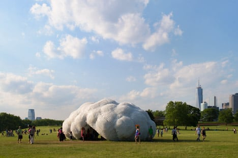 Head in the Clouds Pavilion by StudioKCA