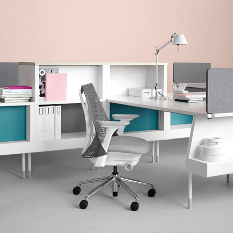 Herman Miller launches office furniture by Ind