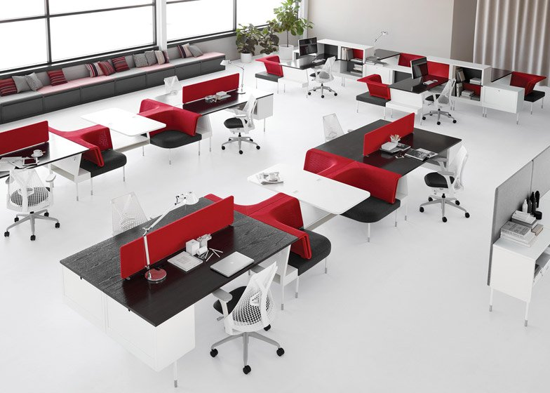 Yves Behar\'s Fuseproject launches office furniture for Herman Miller