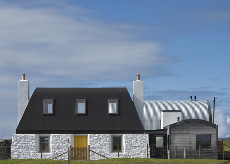 House No 7 Isle of Tiree by Denizen Works