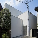 PANDA's House in Jingumae slots in between four existing homes
