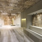 Ciguë designs woven bamboo screens for Isabel Marant's Bangkok store