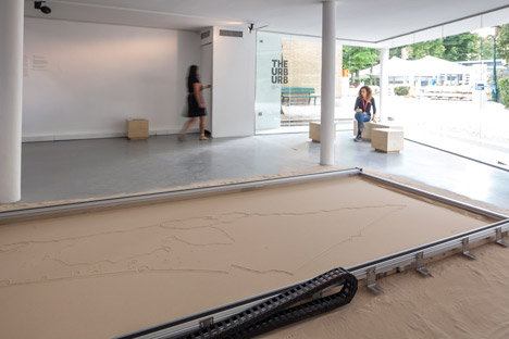 Israeli pavilion at the Venice Architecture Biennale 2014