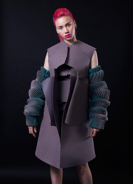 Katherine Roberts-Wood Royal College of Art graduate fashion collection 2014