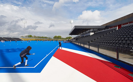 Lee Valley Hockey and Tennis Centre by Stanton Williams