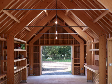 Long Sutton Studio by Cassion Castle Architects with Tom Lloyd
