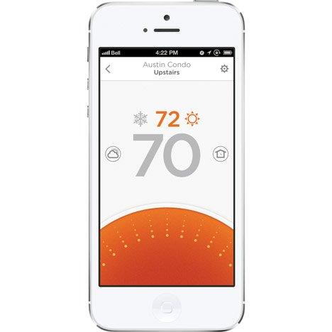 Lyric smart thermostat by Honeywell