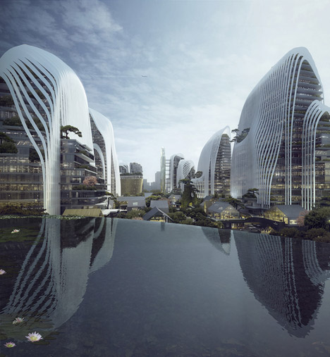 Visualisation of Nanjing Zendai Himalayas Center