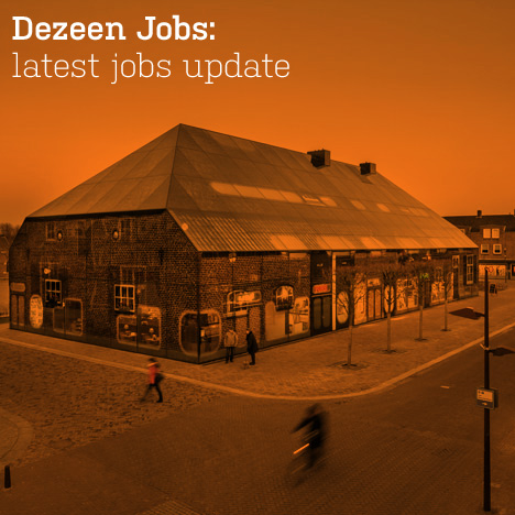 Dezeen jobs update
