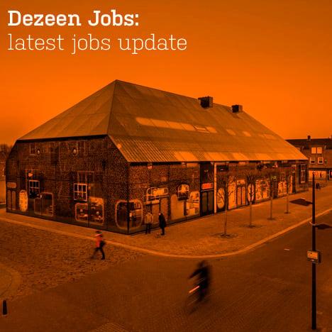 Dezeen jobs update
