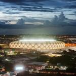 Manaus stadium by GMP Architekten hosts four World Cup football matches
