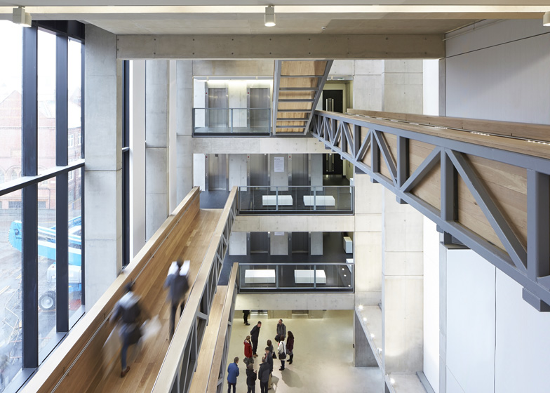 Manchester Metropolitan University art school extension by Feilden Clegg Bradley Studios