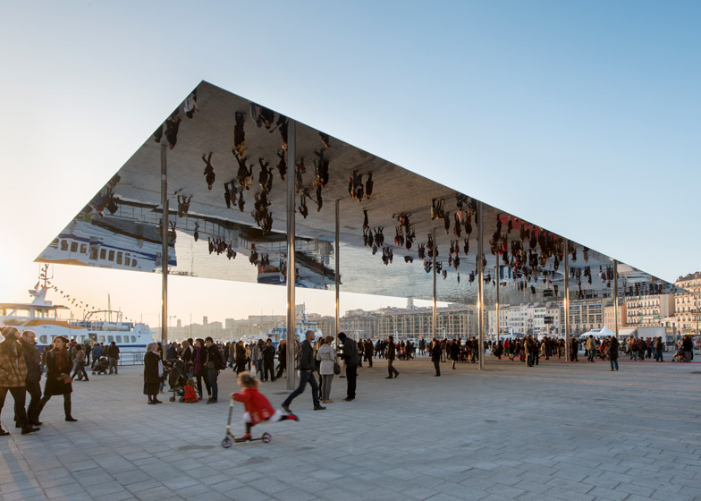 Marseille Vieux Port by Foster + Partners