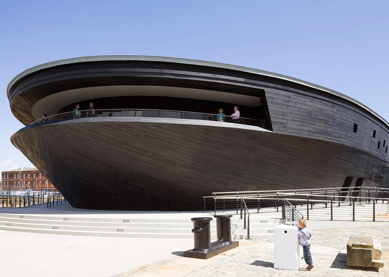 Mary Rose Museum Portsmouth by Wilkinson Eyre Architects