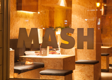 Mash bar Amsterdam by ninetynine