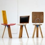 Salvaged materials form chairs in Curro Claret's More Than This collection