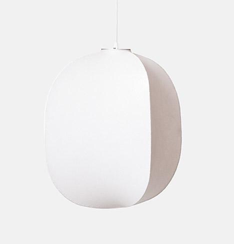 Mori pendant lamps by Rich Brilliant Willing