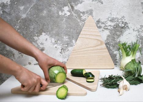 Mountains chopping boards by Runa Klock
